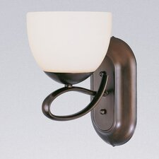 <strong>Classic Lighting</strong> Odyssey 1 Light Wall Sconce