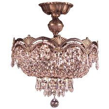 Regency II 3 Light Semi-Flush Mount
