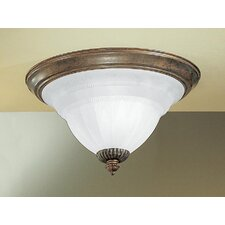 Yorkshire 2 Light Semi-Flush Mount