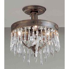 Duchess 3 Light Semi-Flush Mount