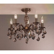 Chateau 5 Light Semi-Flush Mount