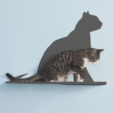"23"" Cat Silhouette Cat Shelf (Set of 3)"