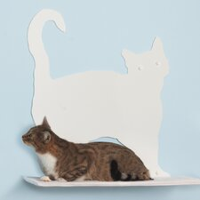 Cat Silhouette Prance Cat Shelf