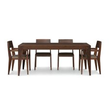 "Kyoto 72-96""W 5 Piece Dining Set"