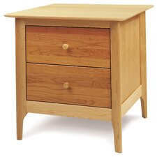 <strong>Copeland Furniture</strong> Sarah 2 Drawer Nightstant