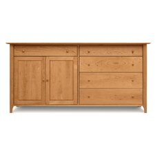 <strong>Copeland Furniture</strong> Sarah 4 Drawers on Right Buffet