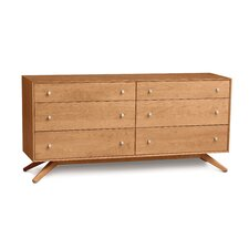 <strong>Copeland Furniture</strong> Astrid 6 Drawer Dresser