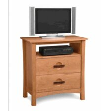 <strong>Copeland Furniture</strong> Berkeley 2 Drawer Chest with Media Organizer