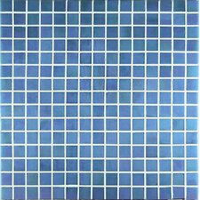 Madreperla Glass Mosaic in Azzurro