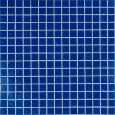 "<strong>Casa Italia</strong> Project Base 13"" x 13"" Glass Mosaic in Dark Blue Basic"