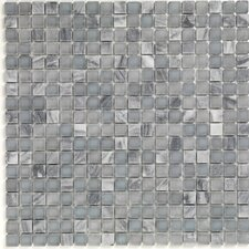 Pure & Natural Natural Stone and Glass Mosaic in Pure Blue Stone and Natural Frosted