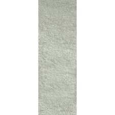 Twilight White Shaggy Rug