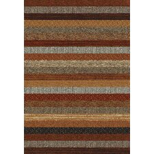 Woodstock Red Stripe Rug