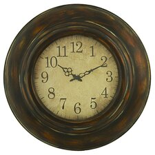 "Cardiff 23.5"" Round Wall Clock"