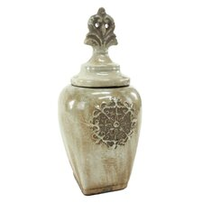 Lara Ceramic Jar with Lid