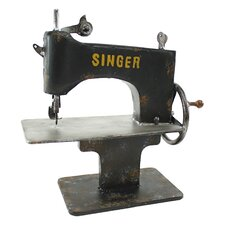 Singer Metal Sewing Machine Decor