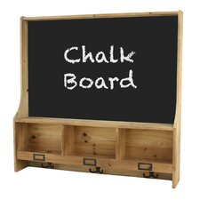 Cambridge Shelf with Chalk Board