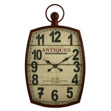 Annalise Pocket Watch Wall Clock