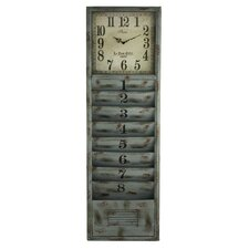 Strada Wall Organizer with Clock