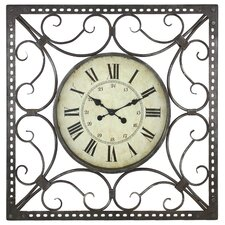 "Alyssa 29"" Square Wall Clock"