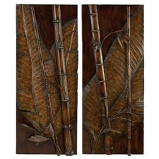 2 Piece Tropical Wall Decor Set
