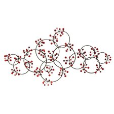 Gems Metal Wall Decor