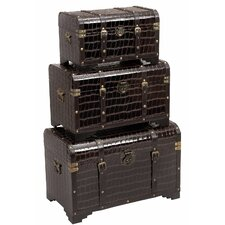 Storage Trunks 3 Piece Set
