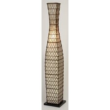 Melanie Rattan Floor Lamp