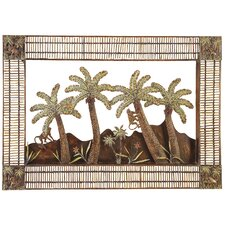 Palm Tree Plaque