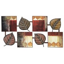 Abstract Leaf Wall Decor