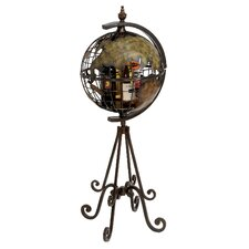 Globe 4 Bottle Wine Rack
