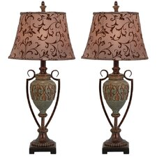 <strong>Aspire</strong> Trish Table Lamp (Set of 2) (Set of 2)