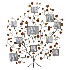 <strong>Aspire</strong> Family Tree Picture Frame Wall Decor