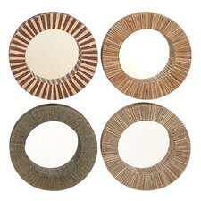 Artsy Mirrors (Set of 4)