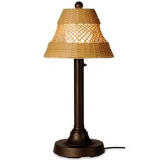 "Java 34"" H Narrow Table Lamp with Empire Shade"