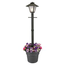 "Cape Cod 1 Light 80"" Outdoor Post Lantern Set with Planter"