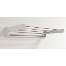 Indoor Fold Away Wall Mounted Towel Rack