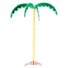 Medium Halogen Palm Tree