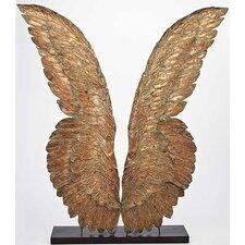 Metal Wings Display Figurine