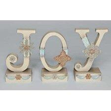 3 Piece Vintage Joy Figurine Set