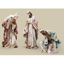 3 King Figurine Set