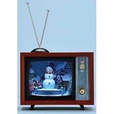 Mus TV with Mirror Screen Figurine