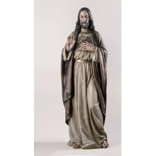 "37.5"" Sacred Heart of Jesus Figurine"