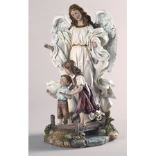 Classic Guardian Angel Figurine