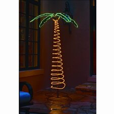 Deluxe Ropelight Palm Tree