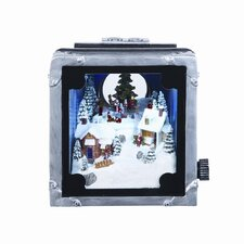 Musical Lighted Camera with Carolers