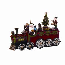 Musical Train with Rotate Gears Figurine