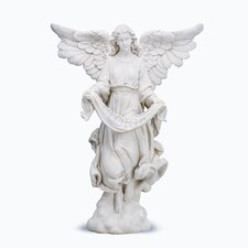 <strong>Roman, Inc.</strong> Ivory Angel Figurine
