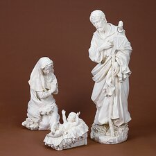 <strong>Roman, Inc.</strong> Three Piece Holy Family Garden Set