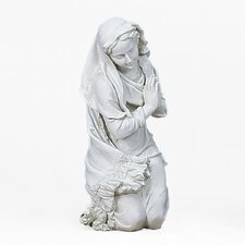 Mary Figurine in Ivory